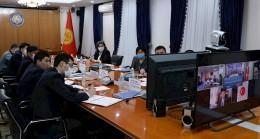 Kırgızistan ve Türkiye Siyasi İstişareleri Video Konferans Yöntemiyle Gerçekleştirildi