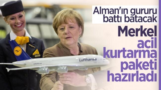Lufthansa iflasa sürükleniyor