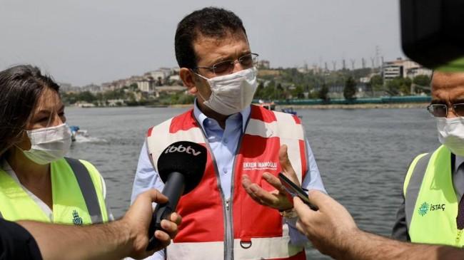 İstanbul Büyükşehir Belediye Başkanı Ekrem İmamoğlu : Haliçi Temizliyoruz