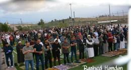 Batı Şeria Bölgesinde Bugün  Camilerin Çoğunda Bayram Namazları Kılındı