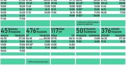 Haftasonu Belediye Otobüs Saatleri
