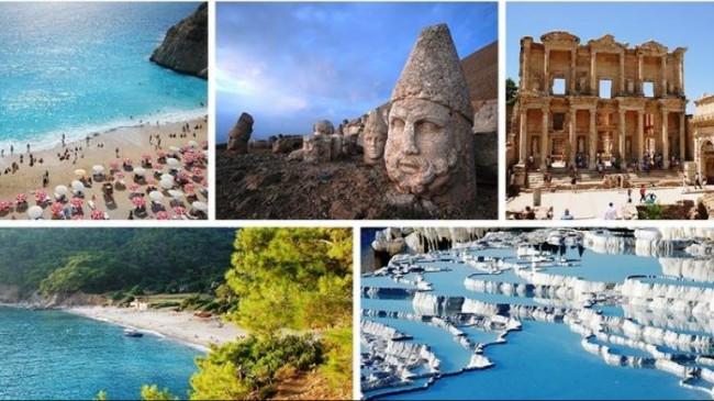 Türkiye Dünya Turizm Gelirlerinde 13.Sıraya Yükseldi