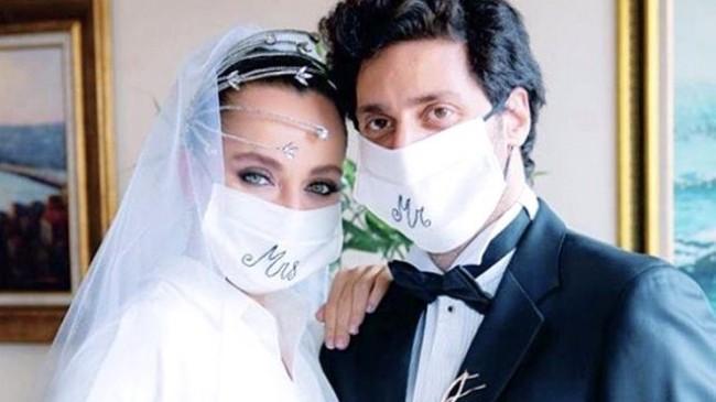 Oyuncu Didem Balçın, Avukat Nişanlısı Can Aydın ile Sessiz Sedasız Dünyaevine Girdi