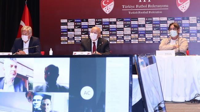 TFF ile Kulüpler Birliği Vakfı Toplantı Yaptı