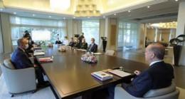 Cumhurbaşkanı Başkanlığında Yapılan  Güvenlik Toplantısı 3 Saat Sürdü