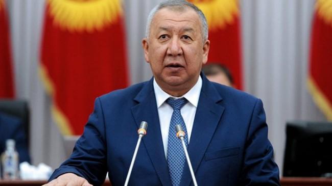 Kırgızistan`da Yeni Başbakan Kubatbek Boronov Oldu