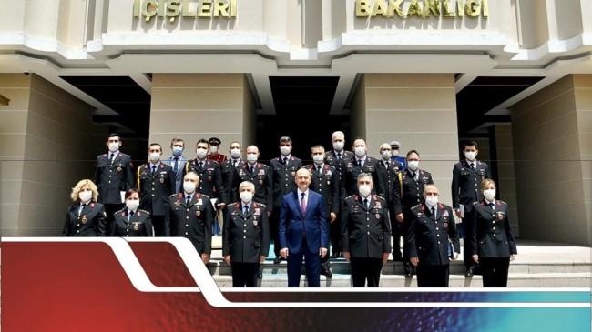 İçişleri Bakanı Sn. Süleyman Soylu'nun Jandarma Teşkilatının 181. Kuruluş Yıl Dönümü Münasebetiyle Bir Mesaj Yayınladı