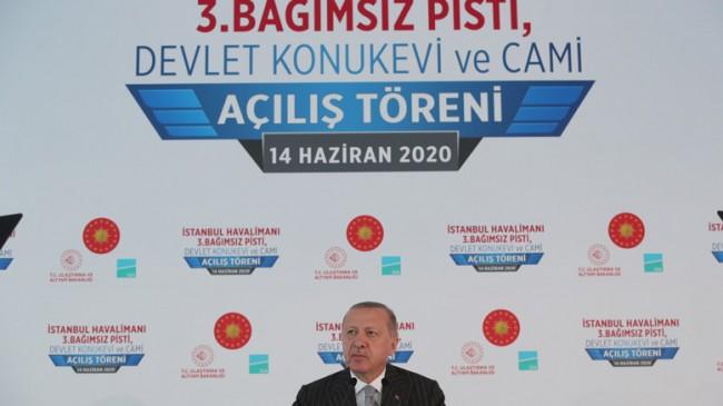 Cumhurbaşkanı Recep Tayyip Erdoğan :Bizimle Yarışmak İsteyen Varsa Gelsin