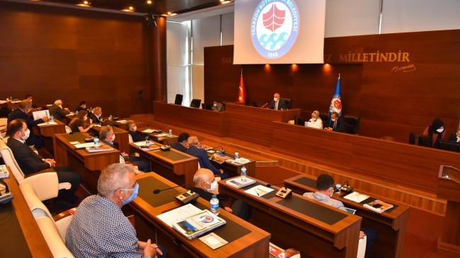 Belediye Meclisi Başkan Zorluoğlu Başkanlığında Toplandı