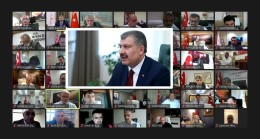 Bakan Koca 81 İlin Sağlık Müdürleri İle Görüştü