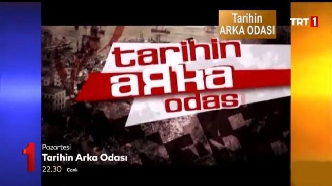Tarihin Arka Odası 5 yıl Aradan Sonra TRT1 Ekranlarında