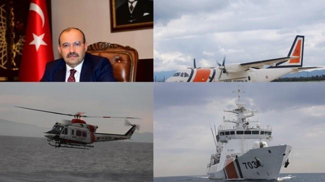 Vali Ustaoğlu, Sahil Güvenlik Komutanlığımızın 38. Kuruluş Yıl Dönümü Dolayısıyla Mesaj Yayımladı