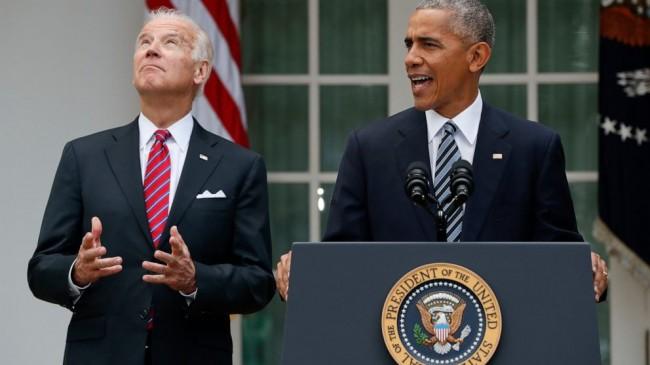 Muhtemel Demokrat Başkan Adayı Joe Biden Obamanın Desdeğini Aldı