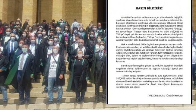 Trabzon Barosundan Manifesto
