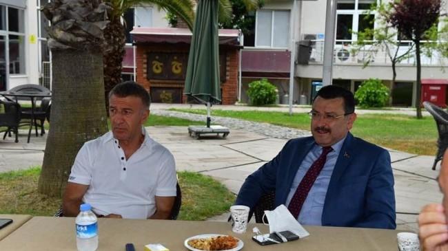 """Başkan Genç'ten Trabzonspora """"Yalnız Değilsiniz """"Desdeği"""