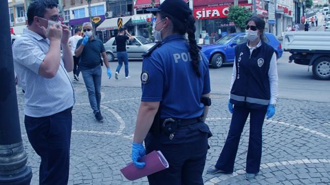 Tüm Yurtta Huzurlu Sokak Uygulaması  Yapıldı