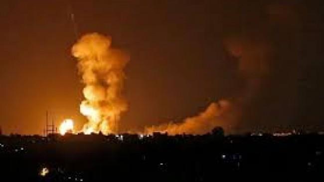 İsrail Hava Kuvvetleri Gazze Şeridi'ne Yeni Bir Saldırı Başlattı