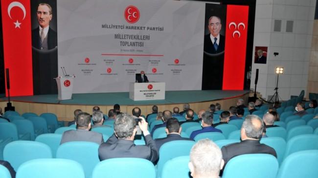 Dr.Devlet Bahçeli Partisinin Milletvekilleri ile Toplantı Yaptı