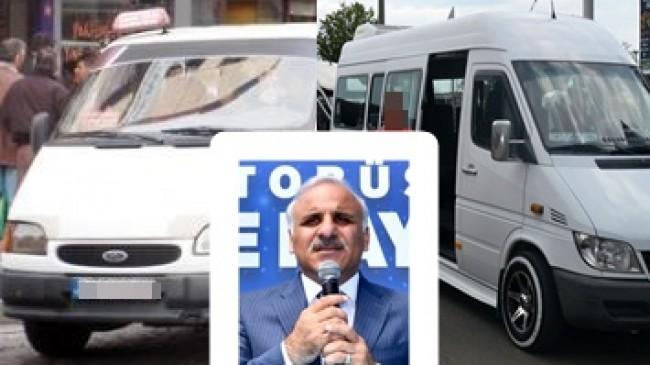 Başkan Zorluoğlu Trabzon ve Akçaabat da  Dolmuşlar Modernizasyonu 2020 de Bitirecek Dedi