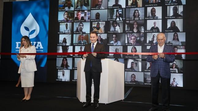 """Ali Babacan:""""Sadece Bir Parti Değil,  Yeni Bir Siyasi Kültür İnşa Ediyoruz"""""""
