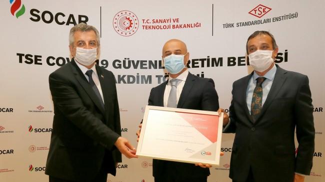 """SOCAR Türkiye""""de güvenli üretimi"""