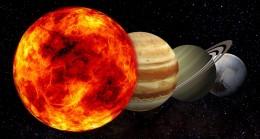 Yıldızımız Güneş, Ağır Gezegenlerle Karşı Karşıya Geliyor