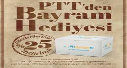 PTT'DEN BAYRAM ÖNCESİ İNDİRİM SÜRPRİZİ