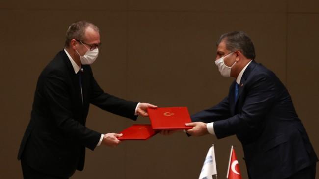 Bakan Koca, DSÖ Avrupa Bölge Direktörü Kluge ile Bir Araya Geldi