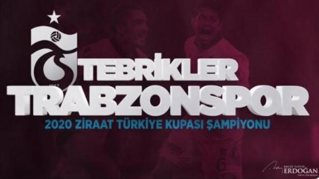 Trabzonsporu Kutluyorum