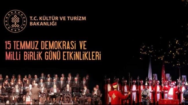 DEMOKRASİ KAHRAMANLARI TÜRKÜLERLE ANILACAK