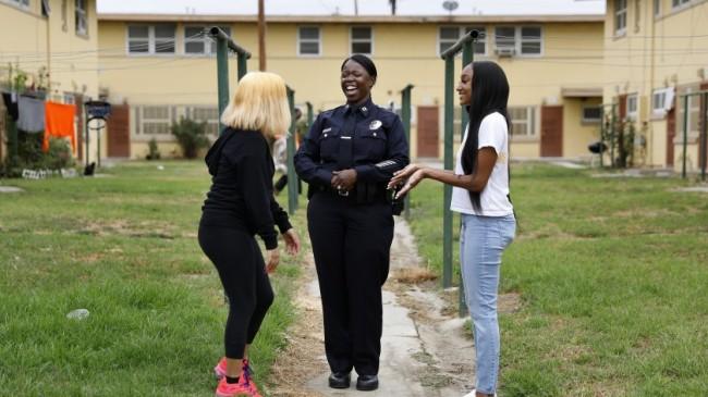 Los Angeles Police Departmanına Siyah kadın başkan yardımcısı atadı