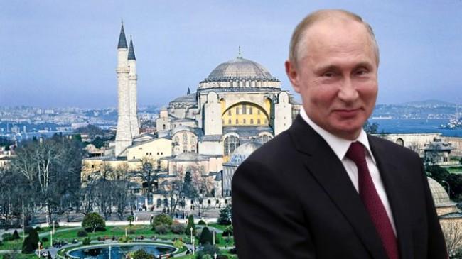 Rusya, Ayasofya'nın ibadete açılmasından memnun