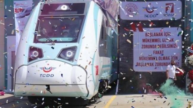 Yerli ve Milli Elektrikli Tren Test lere Başladı