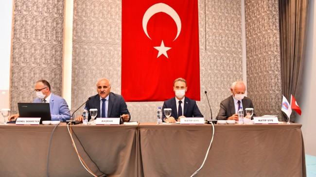 Başkanı Murat Zorluoğlu'nun başkanlığında DKBB 1. Olağan Meclis Toplantısı yapıldı