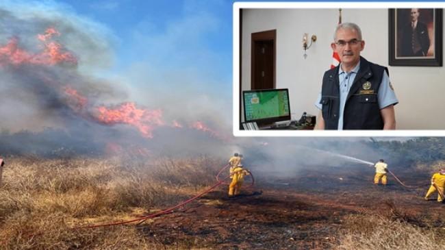 """Bekir Karacabey; """"Ormanda ateş yakmak yasaktır"""""""