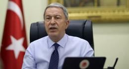 Milli Savunma Bakanı Akar: Doğu Akdeniz'de Türkiye ve KKTC'nin olmadığı projenin yaşama şansı yok