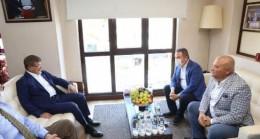 Muhittin Böcek ve Ahmet Davutoğlu, Alanya'da bir araya geldi