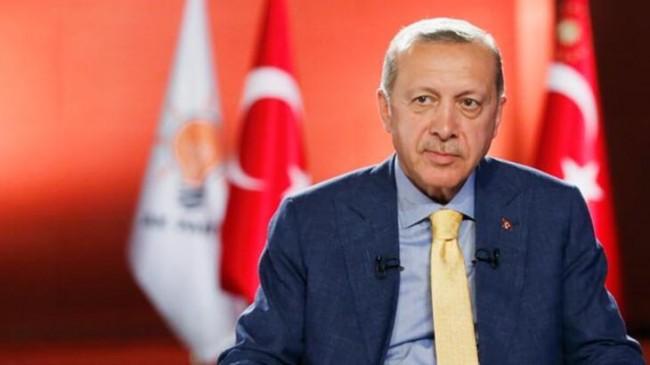 Cumhurbaşkanı Erdoğan, Video Konferans Yoluyla Akp nin 81 il Teşkilatı ile  Bayramlaştı
