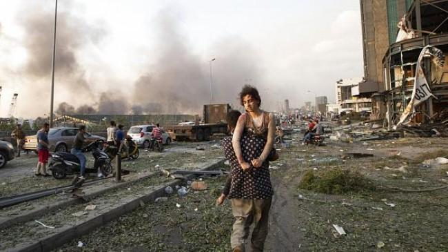 Beyrut Limanında Meydana Gelen Patlamada Ölü Sayısı 158'e Yükseldi