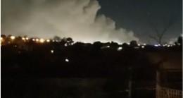Melbourne'de Sabahın Çok Erken Saatlerinde Yangın ve Patlama Dehşeti Yaşanıyor.