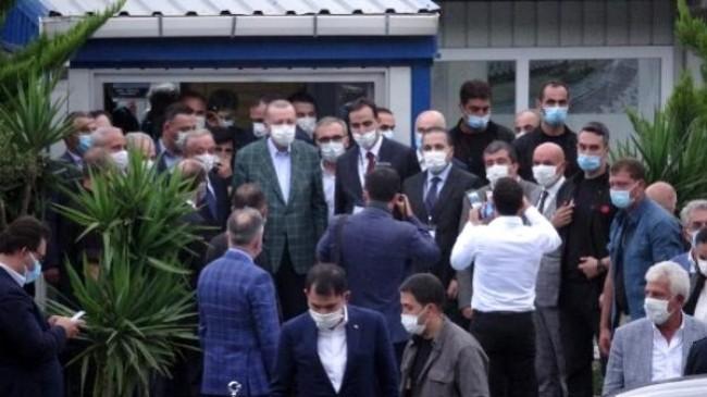 Cumhurbaşkanı Erdoğan Trabzondan Ayrıldı