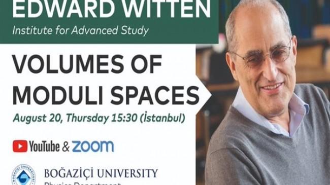Dünyaca ünlü teorik fizikçi Boğaziçi'ne konuk olacak