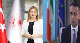 Ticaret Bakanı Ruhsar Pekcan, İtalya Dışişleri Bakanı Luigi Di Maio ile videokonferans yöntemiyle bir araya geldi.