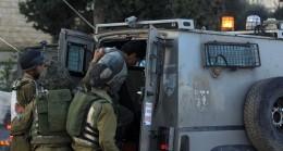 İsrail güçleri Filistinlilere yönelik baskı ve zulmüne devam ediyor