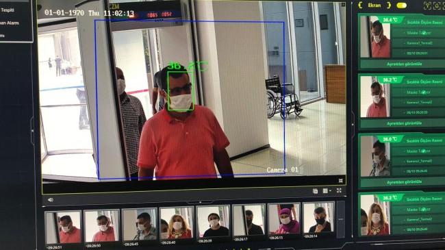 Ortahisar'dan korona virüse termal kamera önlemi