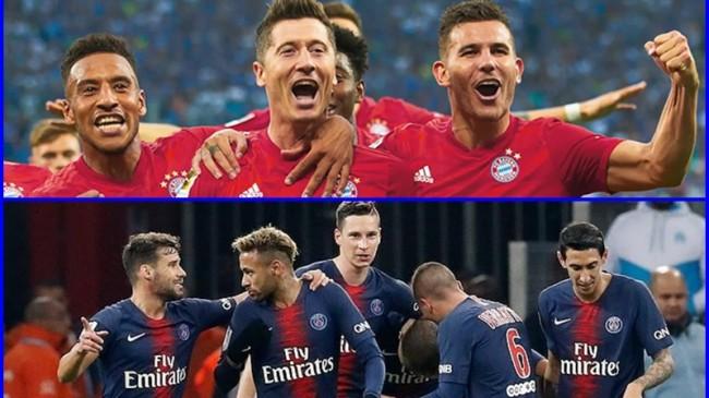 Devler  Ligi'nde finalin adı  Belli Oldu Bayern Münih-PSG