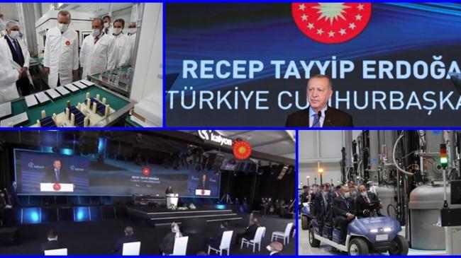 Cumhurbaşkanı Erdoğan Açılışta Gündemdeki Konuları Anlattı