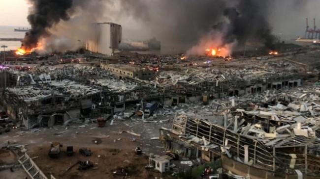 Lübnana Acı Düştü