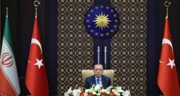 Cumhurbaşkanı Erdoğan,  Türkiye-İran Yüksek Düzeyli İşbirliği Konseyi 6. Toplantısı'na katıldı