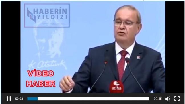 CHP Sözcüsü Faik Öztrak'tan 2020'nin Gafı